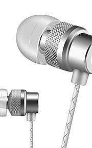 Beevo EM410 Metal Stereo Sport Earphones with MIC Volume Control Running  Noise Reduction HIFI Headphone