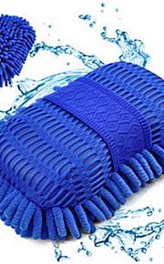 2 stk stor bil rengøring svamp koral bilvask handskerum
