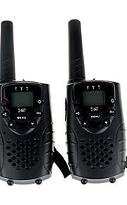 T667462B Walkie-talkie 0.5W 22 Channels 400-470MHz AA alkaline battery 3km-5km VOX / Encryptie / LCD-scherm / Monitor / Scan / CTCSS/CDCSS