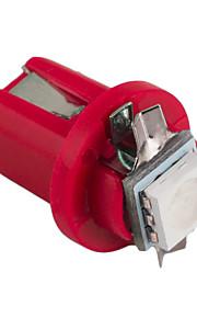 10stk hry® b8 5d 5050 førte en SMD t5 lampe bil gauge speedo dash pære instrumentbræt instrument lys 12v