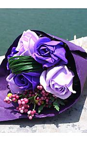 Bouquet sposa Forma libera Rose Decorazioni Matrimonio Schiuma 6 cm ca.