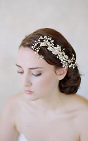Women's Alloy / Imitation Pearl Headpiece-Wedding / Casual Headbands / Hair Combs / Flowers / Head Chain / Hair Tool1
