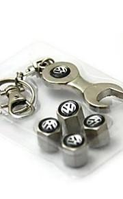 coche de la cubierta interior de la válvula tapón de la válvula estándar con tapa de la válvula de la cadena dominante de la llave