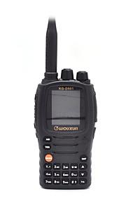 WOUXUN kg-D901 digitale en analoge twee manier radio met sms-functie handheld walkie talkie