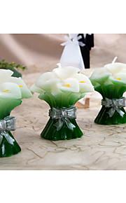 Thème floral / Thème classique Favors Candle-2Piece Piece / Set Bougies Non personnalisé Vert