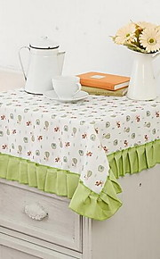 Polyester Neliö Table Cloths