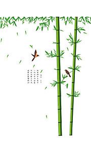 Animali / Botanica / Cartoni animati Adesivi murali Adesivi aereo da parete Adesivi decorativi da parete / Adesivi misura altezza,PVC