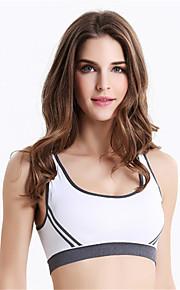 Full Coverage Seamless Sports Bra Yoga Run Shockproof Underwear Bras Nursing Push-up Wireless  Racerback
