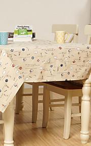 Cotton Blend Rectangular Table Cloth