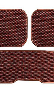 legno cuscino tallone tre pezzi quattro stagioni cuscino per l'automobile