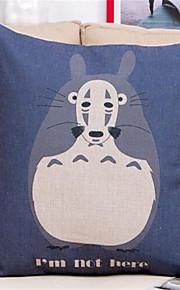 1 pcs Coton/Lin Taie d'oreiller,Nouveauté / Imprimés Photos Moderne/Contemporain / Traditionnel/Classique