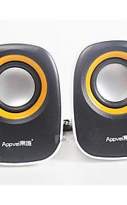 fruit cd usb ht-128 mini speaker desktop pc speaker draagbare notebook stereo car audio