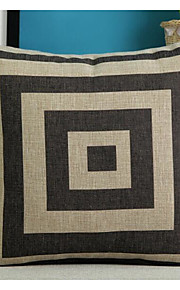 1 pcs Cotton/Linen Pillow CaseNovelty / Holiday / Graphic Prints Traditional/Classic / Modern/Contemporary