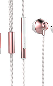 Neutral Product Q8 Hoofdtelefoons (hoofdband)ForMediaspeler/tablet / Mobiele telefoon / ComputerWithmet microfoon / DJ / Volume Controle