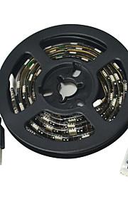 Jiawen usb 60-smd5050 rgb 1m vanntett LED lys stripe DC 5V