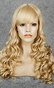 Lace Wig Parykker til kvinner Blond costume Parykker Cosplay Parykker