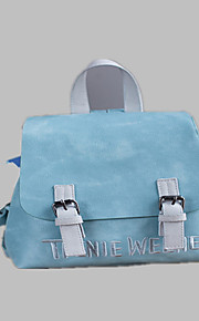 Women PU Casual / Outdoor / Shopping Backpack Pink / Blue / Gray / Black
