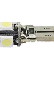 t10-5 5050 highlight portato larghezza licenza lampada auto luce della lettura della luce in esecuzione luci luci del cruscotto