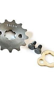 420-17mm-13T tanden motorfiets pit crossmotor atv tandwiel set # 420 ketting