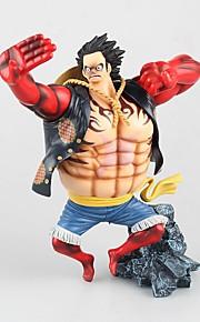 One Piece Monkey D. Luffy PVC 18CM Anime Action Figurer Modell Leker Doll Toy