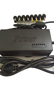 110-220V AC naar DC 12v / 15v / 16v / 18v / 19v / 20v / 24v laptop lader adapter 96W universele laptop voeding oplader