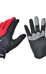Guantes Deportivos ciclo de los guantes Bicicleta Dedos completos TodoA prueba de resbalones / A Prueba de Golpes / Transpirable /