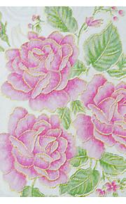 Fleur / arbres/Feuilles / Décoration artistique / 3D Fond d'écran pour la maison Contemporain Revêtement , Tissu Non-Tissé Matériel