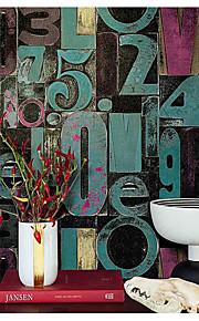 Décoration artistique Fond d'écran pour la maison Contemporain Revêtement , PVC/Vinyl Matériel adhésif requis fond d'écran , Chambre