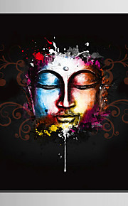 E-HOME® Stretched Canvas Art Color Image Of Buddha Decoration Painting  One Pcs