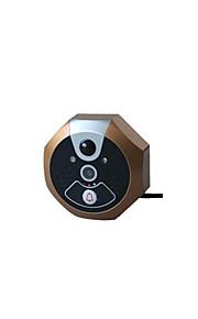 30W像素 140° CMOS deurbelsysteem Draadloos Gefotografeerd / Opname