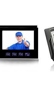 30W 100° CMOS deurbelsysteem Bedraad Gefotografeerd / Opname