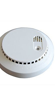 détecteur de fumée avec capteur photoélectrique et la batterie DC9V et courant alternatif et continu à double usage