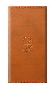 1 USB-port Trådløs Oplader / Fast Charge US Stik Dock-oplader / Hjem oplader / Bærbar oplader med kabel For Cellphone100% genuine leather