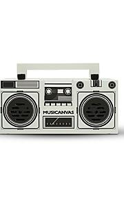 MUSICANVAS Originals Draadloos / Bluetooth Boekenplankluidsprekers 2.1