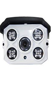 1.3 MP Kugle Udendørs with IR-cut 64(Vandtæt / Motion Detection / PoE / Dobbeltstrømspumpe)