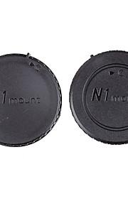 Dengpin® Rear Lens Cover +Camera Body Cap for Nikon J5 J1 V1 J2 V2 J4 V3 S1 S2