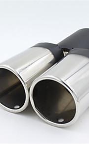 automobiel algemene staart keel roestvrijstalen uitlaat gewijzigd demper
