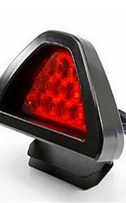 Automobile Brake Lamp LED Burst Flashing Triangle Brake Lamp General Modified Vehicle Tail Lamp