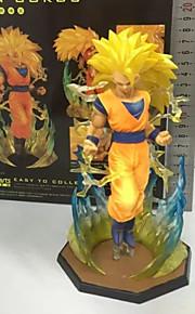 Dragon Ball Goku PVC 12cm Anime Action Figurer Modell Leker Doll Toy