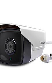 Hikvision ds-2cd2t10 (d) cmos -i3 / i5 / i8 infrarood dag waterdichte 1.3MP / poe ICR en nacht buistype netwerkcamera