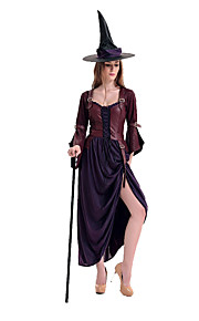 Kostume Flere Kostymer Halloween Lilla Lapper Terylene Kjole / Mer Tilbehør