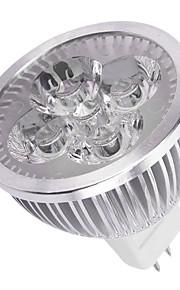 8W GU5.3(MR16) Spot LED MR16 4LED LED Haute Puissance 750LM lm Blanc Chaud / Blanc Froid Décorative DC 12 V 1 pièce