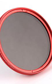 fotga 82mm kamera fader variabel ND-filter neutral tæthed ND2 ND8 at nd400 rød