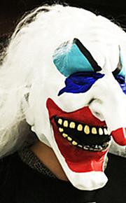 Хэллоуин анфас ужаса гримасы маска маскарад костюм партии перемещения тема платье увидел маски капюшон