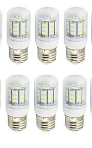 4 E26/E27 Ampoules Maïs LED T 27 SMD 5730 280 lm Blanc Chaud / Blanc Froid Décorative AC 85-265 / 9-30 V 10 pièces