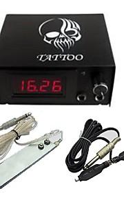 LCD 0.7 støpsel profesjonell makt Pedalen Digital Tattoo