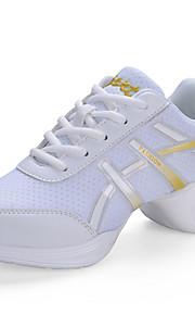 Zapatos de baile(Negro / Blanco) -Zapatillas de Baile-No Personalizables-Tacón Cuadrado