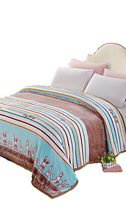 Super Soft Multi-color,Printed Animal 100% Polyester Blankets W200*L230cm