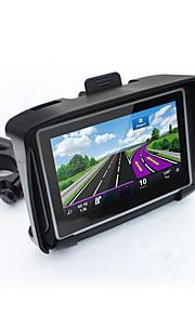 caldo 4.3 impermeabile IPX7 navigazione GPS moto moto navigatore con FM Bluetooth 8g Flash prolech GPS per auto moto