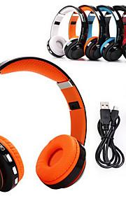 JKR 208B Hoofdtelefoons (hoofdband)ForMediaspeler/tablet / Mobiele telefoon / ComputerWithmet microfoon / Volume Controle / FM Radio /